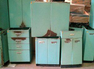 کابینت فلزی آشپزخانه