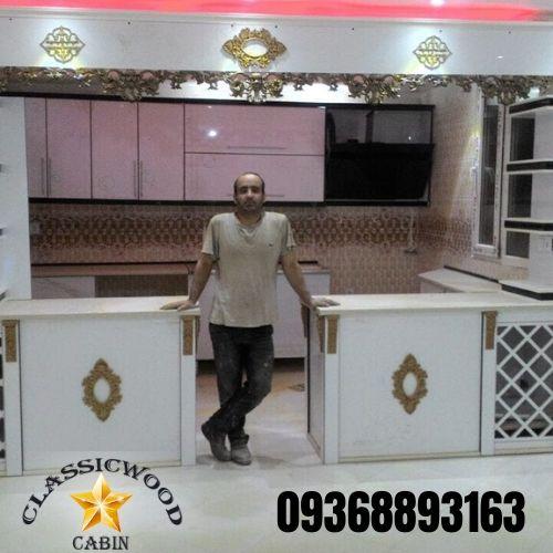 نصاب کابینت آشپزخانه